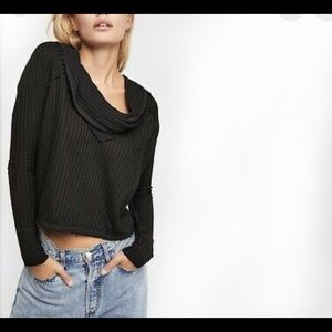 Free People   wildcat thermal on black new XS